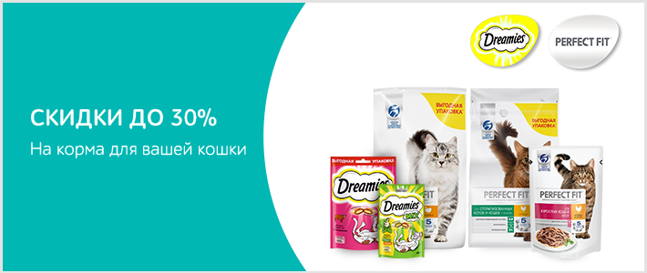 Perfect Fit, Dreamies. Скидки до 30%