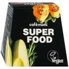 Набор Cafemimi Super Food Маски для лица 10 мл 3 штуки+ Скраб-пиллинг 50 мл + Гель для лица и зоны декольте 50 мл