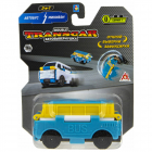 Машинка 1toy Transcar Double 2в1 Автобус-Минивэн