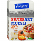 Мюсли Everyday Swiss art muesli с фруктами 300 г