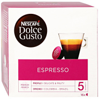 Капсулы Nescafe Dolce Gusto Espresso 16 штук по 6 г