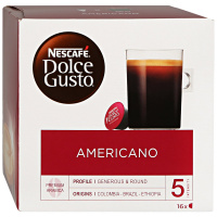 Капсулы Nescafe Dolce Gusto Caffe Americano 16 штук по 8 г