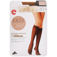 Гольфы Omsa Easy Day Caramello размер 3-4 40 den 2 пары