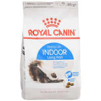 Корм для кошек Royal Canin Indoor Long Hair с длинной шерстью, живущих в помещении, 0,4кг