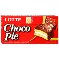 Печенье Lotte Chocopie 168г