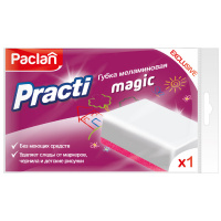 Губка Paclan Practi Magic меламиновая
