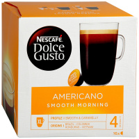 Капсулы Nescafe Dolce Gusto Preludio Americano Smooth Morning 16 штук по 10 г