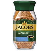 Кофе Jacobs Monarch Decaff растворимый сублимированный 95 г