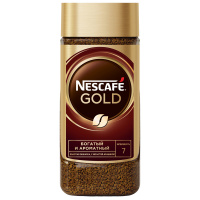Кофе Nescafe Gold растворимый сублимированный 190 г
