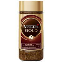 Кофе Nescafe Gold растворимый сублимированный 95 г