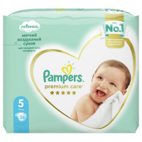 Подгузники Pampers Premium Care Junior 5 (11-16 кг, 28 штук)