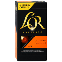 Капсулы L'or Espresso Delizioso Intensity 5 10 штук по 5.2 г