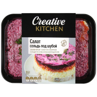 Салат Creative Kitchen Сельдь под шубой 400 г