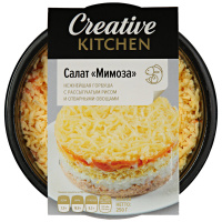 Салат Creative Kitchen Мимоза с горбушей 250 г