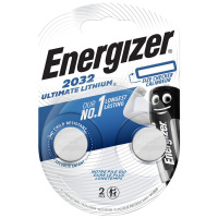 Батарейки литиевые Energizer ENR Ultimate Lithium CR 2032 FSB2 (2 штуки)