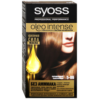Краска Syoss Oleo Intense cтойкая 5-86 Карамельный каштановый