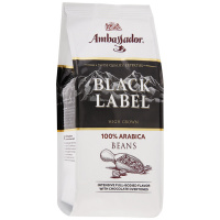 Кофе Ambassador Black Label в зернах 200 г