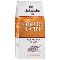 Кофе Ambassador Gold Label в зернах 200 г