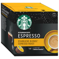 Капсулы Starbucks Blonde Espresso Roast для системы Nescafe Dolce Gusto 12 штук по 5.5 г