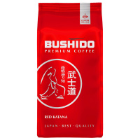 Кофе Bushido Red Katana Coffee в зернах 227 г