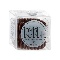Резинка invisibobble ORIGINAL для волос Pretzel Brown 3 штуки