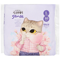 Прокладки Secret Day Sense Large 4 капли 10 штук