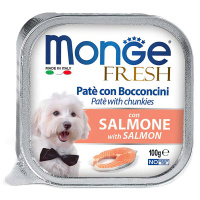Корм влажный для собак Monge Dog Fresh лосось 100 г