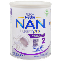 Смесь молочная сухая Nestle NAN 2 Optipro HA гипоаллергенная для профилактики аллергии с 6 месяцев 800 г