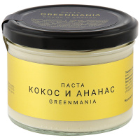 Паста Greenmania Кокос И Ананас 200 Г