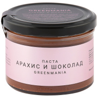 Паста Greenmania Арахис И Шоколад 200 Г
