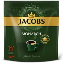 Кофе Jacobs Monarch растворимый сублимированный 500 г