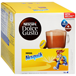 Капсулы Nescafe Dolce Gusto Nesquik 16 штук по 16 г