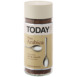Кофе Today Pure Arabica растворимый сублимированный 95 г