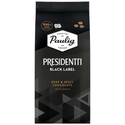 Кофе Paulig Presidentti Black Label в зернах 250 г