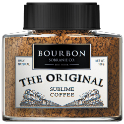Кофе Bourbon The Original растворимый сублимированный 100 г