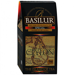 Чай Basilur The Island of Tea Ceylon Special черный листовой 100 г