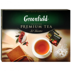 Чай Greenfield Premium Tea Collection 30 вкусов по 4 пакетика 211.2 г