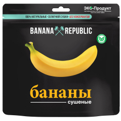 Бананы Banana Republic сушеные 200 г