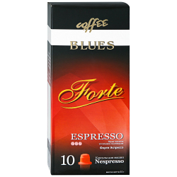 Капсулы Coffee Blues Forte Espresso 10 штук по 5.5 г