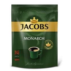 Кофе Jacobs Monarch растворимый сублимированный 240 г