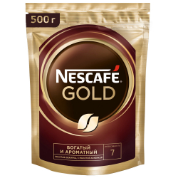 Кофе Nescafe Gold растворимый сублимированный 500 г