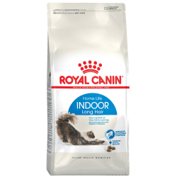Корм сухой Royal Canin Indoor Long Hair для домашних длинношерстных кошек 2 кг