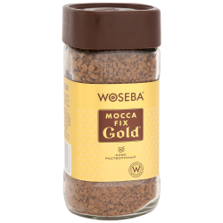 Кофе Woseba Mocca Fix Gold растворимый сублимированный 100 г