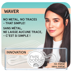 Заколка Invisibobble Waver Crystal Clear one 1 штука