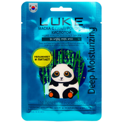 Маска для лица Luke Hyaluron Essence Mask с гиалуроновой кислотой 21 г