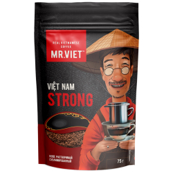 Кофе Mr.Viet Robusta растворимый сублимированный 75 г