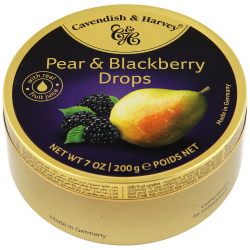 Леденцы Cavendish&Harvey Pear & Blackberry Drops 200 г