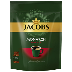 Кофе Jacobs Monarch Intense растворимый сублимированный 150 г