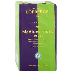 Кофе Lofbergs Medium Roast молотый 500 г