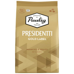 Кофе Paulig Presidentti Gold Label в зернах 1 кг